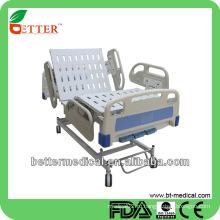 3-функциональное руководство Больничная кровать с ПП боковыми рельсами полевая больничная койка