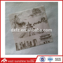 Изготовленная на заказ ткань из микрофибры для чистки с логотипом для компьютера, обычная полноцветная ткань для компьютера