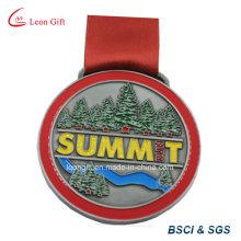 Olímpico corriendo el medallón de oro personalizado por mayor