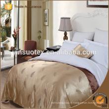 Feuillet de chambre d'hôtel, Hot 100% cotton Bed Sheet Bed