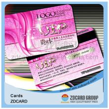Cmyk Printable Plastic PVC Gift Card