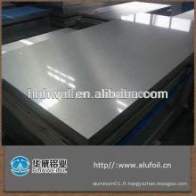 Feuille simple en aluminium / plaque diamantée / plaque de marquage / plaque en feuille de stuc en aluminium à 5 barres