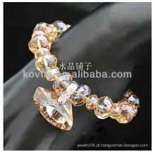 Hot venda pulseira de contas de cristal Shambhala