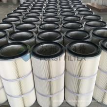 FORST Papier Luft Staubkartusche Industrie gefaltete Staub Filter