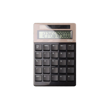 12 Digit Dual Power Electronics Pocket Calculator