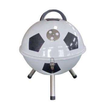 Parrilla de barbacoa de carbón de fútbol portátil Cl2c-Adj08-B