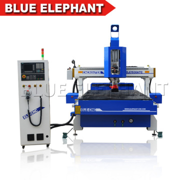 Hochgeschwindigkeits-ATC-Vakuumtisch CNC, der Maschine 1530 Selbstwerkzeugwechsler CNC-Fräser für heißen Verkauf schnitzt