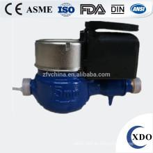 El contador del agua pagado por adelantado remoto control fotoeléctrico lectura directa de la válvula