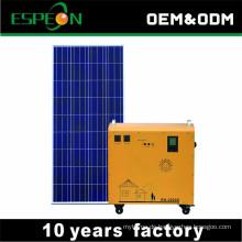 Vom Gitterrost-Sonnenkollektor-Installationssatzsystem 100W 200W 300W 500W tragbarer Gebrauch für Beleuchtung des Kühlschrank-Fernseh-LED hellen Handys