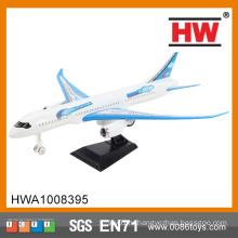 Горячая продавая игрушка модели самолета воздуха задней части пластмассы 26cm пластичная