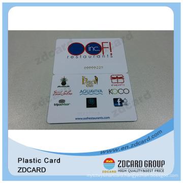 ISO 9001 Plastic Material transportation Card