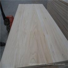 Fabrik-Preis-weißes Paulownia-Holz-Brett-Bauholz