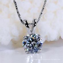 Fashion Star Cut sintético jóias colar de diamantes para o presente