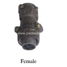 Welding Control Wire 4-Pin Aviation Plug Female