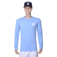 Wholesale Cheap Plain Blank T Shirts for Sport Men (H)