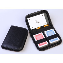 Playing Card Pocker Set in Leather Box