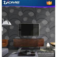 Uhome Stocklot or Vinyl Velvet Bamboo Wallpaper for Home Decals
