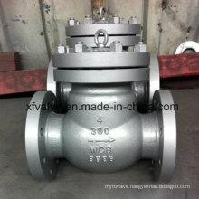 150lb/300lb/600lb/1500lb Cast Steel Wcb Flange End Check Valve