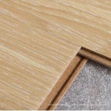 As bordas do quadrado de noz selvagem do revestimento de cristal de 10mm laminaram o revestimento