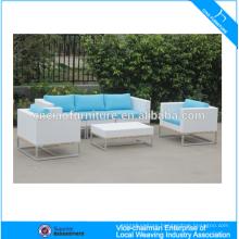 Outdoor garden rattan furniture module outdoor sofa set