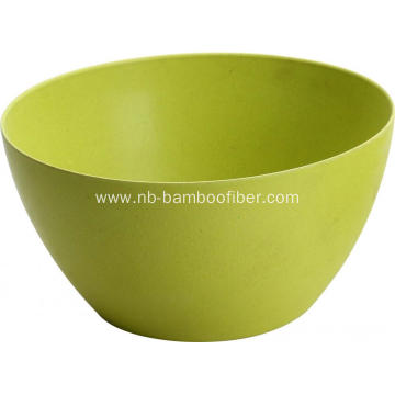 Simple color simple shape soup salad bowl