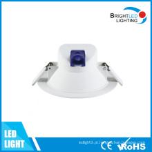 CE, RoHS / Redonda Iluminação de teto COB LED recesso Downlight