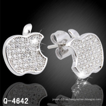 Nuevo diseño de joyería de plata del oído Stud 925 de plata (Q-4642)