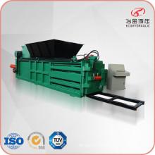 Horizontal Waste Paper Plastic Compress Baler Machine