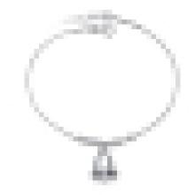 Damenmode Einfache 925 Sterling Silber Glocke Fußkettchen