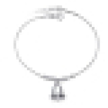Женская мода простой 925 стерлингового серебра колокол Браслет