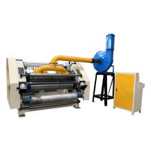 Fingerless type single facer machine/single corrugated paperboard making machine