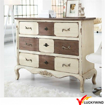 Shabby Chic Wooden Living Room Cabinet