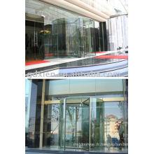 Porte tournante automatique en cristal CN_CR05