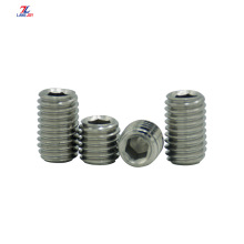 DIN916 304 stainless steel machine screw headless screw