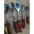 Quick Release Ratchet Socket Wrench with Handle