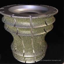 Ferramenta do diamante de 250mm para a pedra, discos de moedura do diamante, ferramentas elétricas