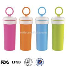 Novo item de presente garrafa de água de esporte de plástico à prova d 'água