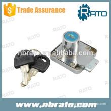 RC-126 fechadura de gaveta de móveis em liga de zinco