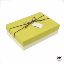 2018 cadeau de luxe haute qualité emballage de boîte de fantaisie papier personnalisé