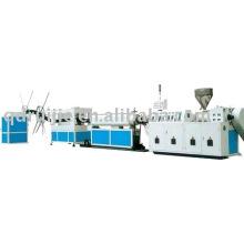 PVC/PE duplo..--máquinas de fabricação de tubo plástico corrugado parede