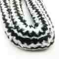 1,8 m schwarz gestreiften Pelz Form Acryl Shisha Shisha Schlauch (ES-HH-006-6)