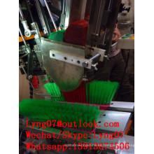 Máquina de pincel / escoba de cepillo de alta velocidad del CNC / máquina que acurruca del cepillo