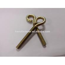 zinc plated carbon steel swivel eye screw,swivel eye screw