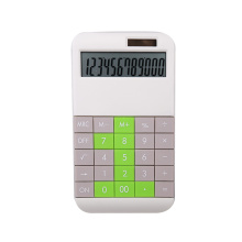 Novo design 12 calculadora de escritório digital diy calculadora