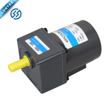 25w single phase low rpm ac electric reversible gear motor with gearbox