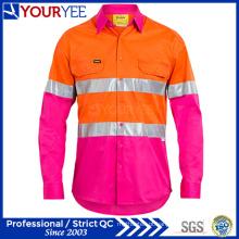 Camisas de trabalho de segurança de manga comprida Design exclusivo (YWS116)
