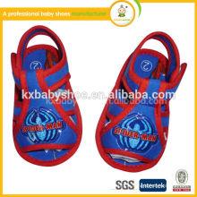 2015 le nouveau mocassin de bébé en cuir doux pour enfants en bambou