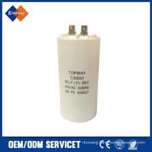 Hot Sale Metallized Polypropylene Film Capacitor for AC Cbb60 50UF 450VAC