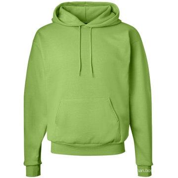 Sudadera con capucha barata al por mayor del jersey del algodón del diseño de encargo
