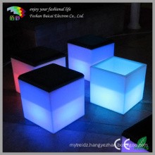 LED Cube Glowing Outdoor Chair